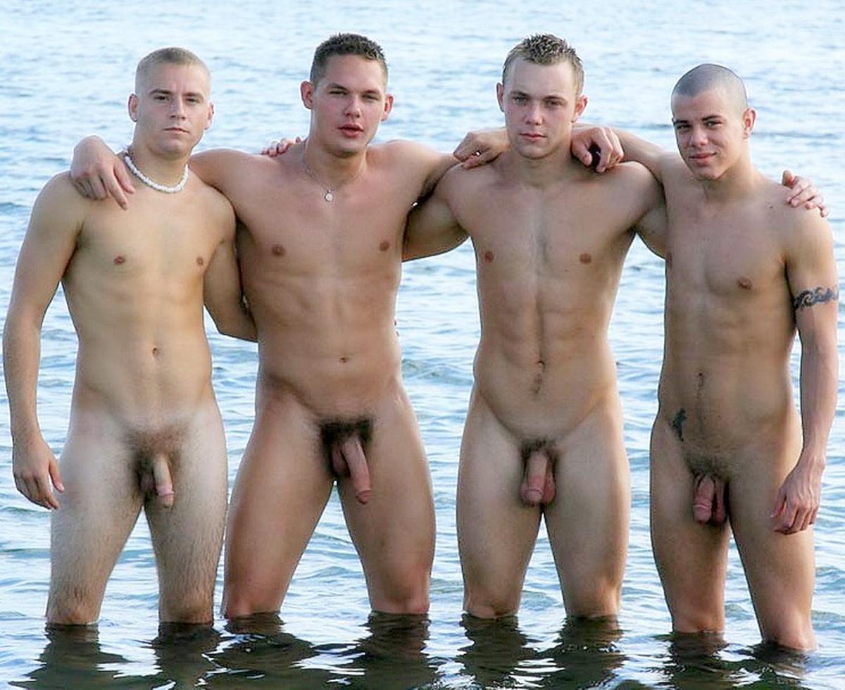 hot nude male models in public