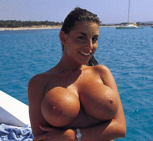 Your place natural boobs on the beach something