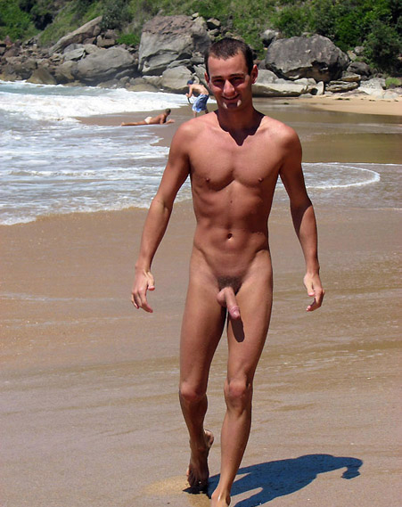 Guys On A Nude Beach