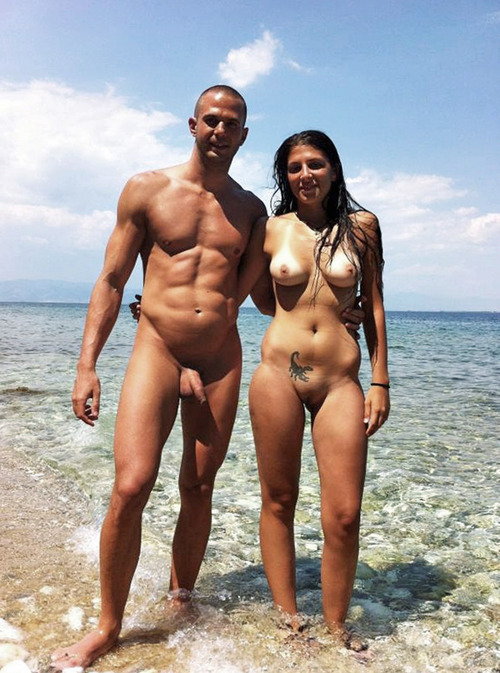 Nude People At Beach